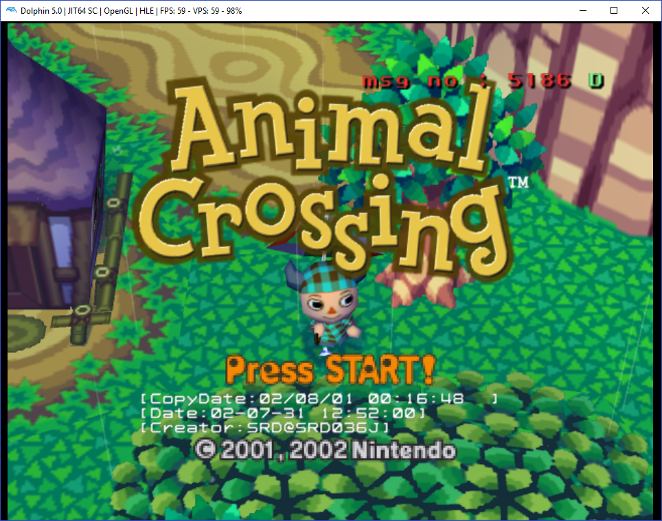 Reverse engineering Animal Crossing's developer mode