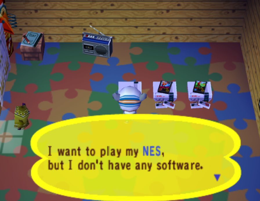 """No software"" message"